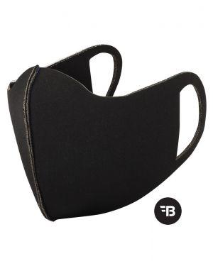 Kinder Gesichtsmasken Mundbedeckung Maske Staubmaske Selbstschutz Handmade Waschbar Black