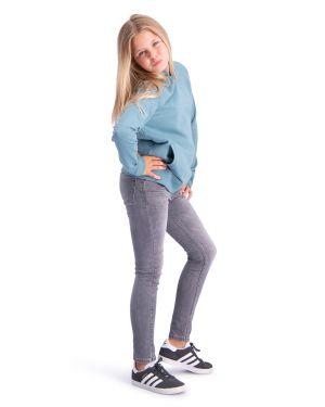 Finch grau super skinny jeans hyperstretch