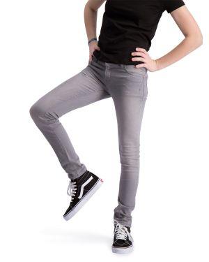 Impulse Grau Jeans Strecken Schlank