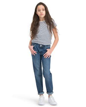 . Puffin Dunkelblau Boyfriend Jeans