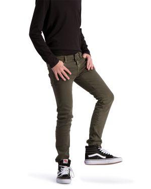 Solar Dunkelgrün denim jeans